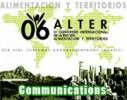 ALTER 2006 - Systèmes Agroalimentaires Localisés « Alimentation et Territoires »