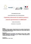 Trazabilidad y diferenciación de calidad de procesos y productos agroalimentarios en el MERCOSUR - Cadena Cárnica Bovina