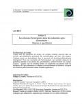 Actes - Ateliers Les réseaux d'entreprise dans les industries agro-alimentaires : Enjeux et spécificité